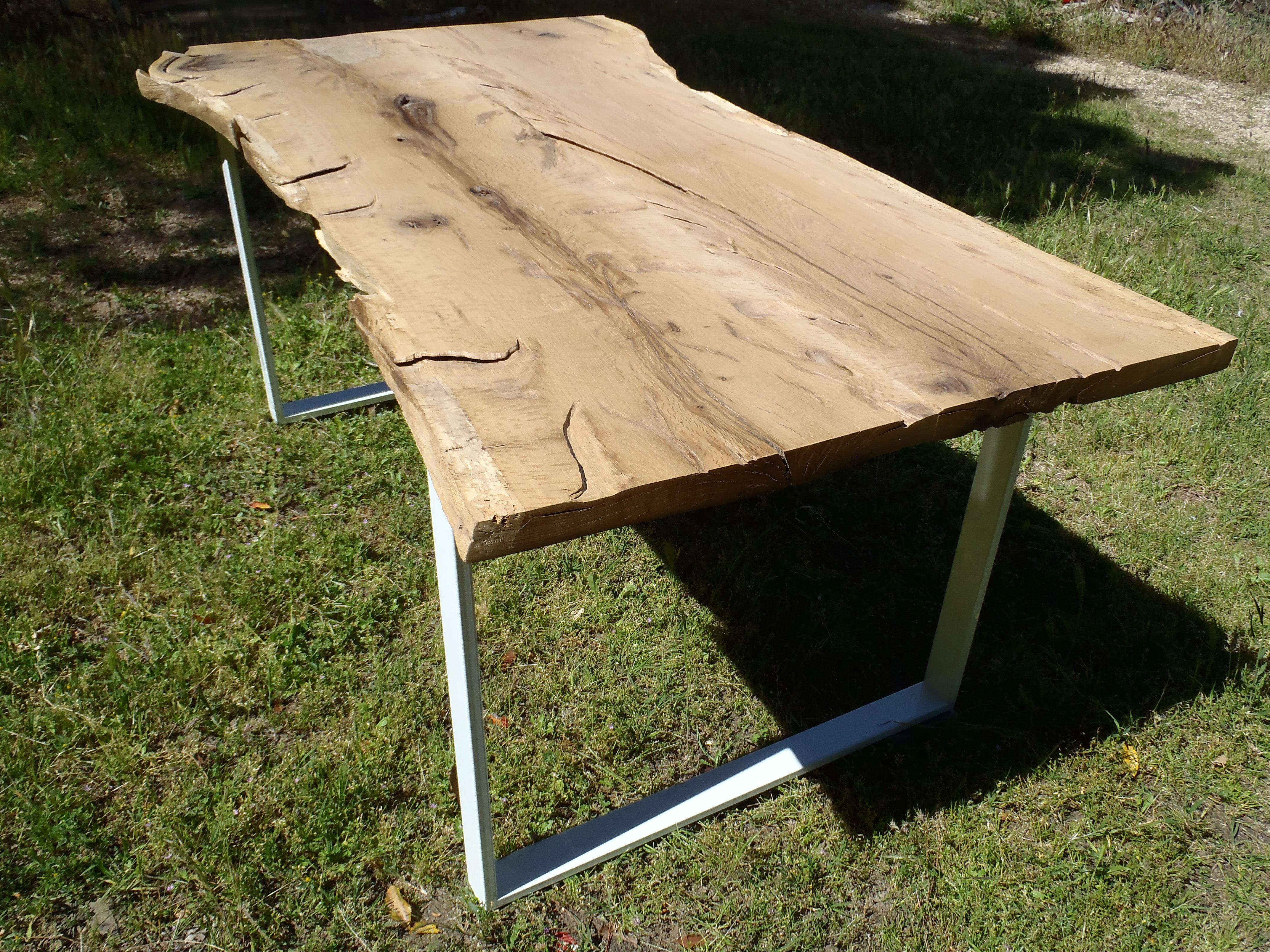 Table manger raw boutique penone design - Table plateau tronc d arbre ...